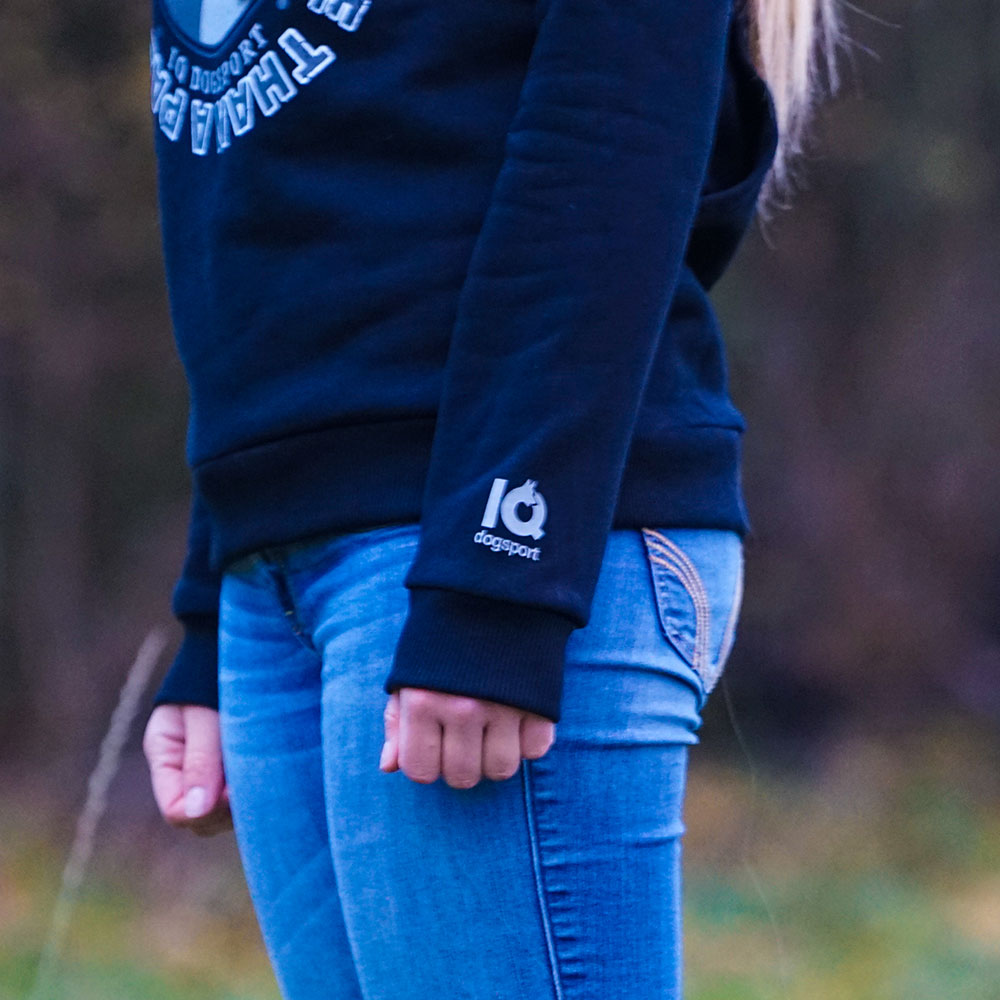 ... Preview  IQ Dogsport Hoodie - Logo an Arm 2e01bcc1c0