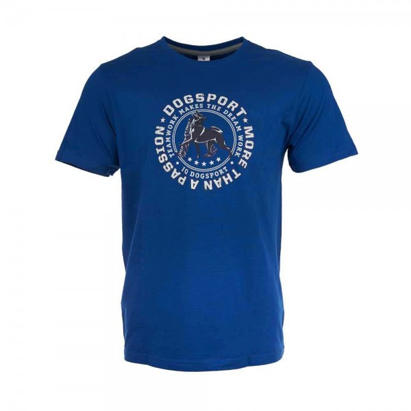 "Unisex T-Shirt ""Dogsport - More Than A Passion"" / Blau"